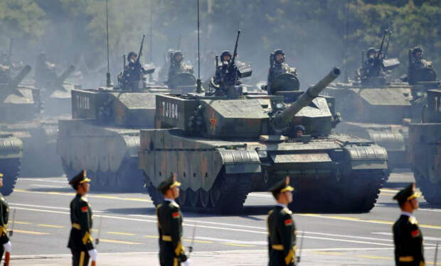 Танковая армада Китая: самая большая армия в мире