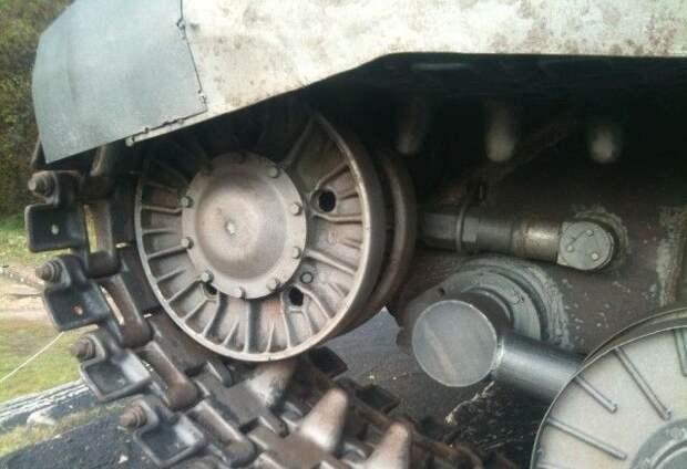 Косметический ремонт танка