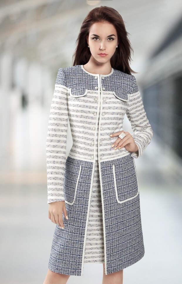 Идеи комбинирования тканей для пальто 9