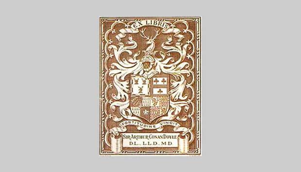 Книжный знак сэра Артура Конан Дойля
