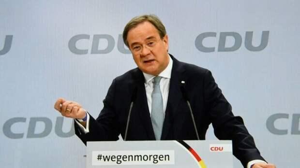 Премьер-министр земли Северный Рейн-Вестфалия и председатель ХДС Армин Лашет
