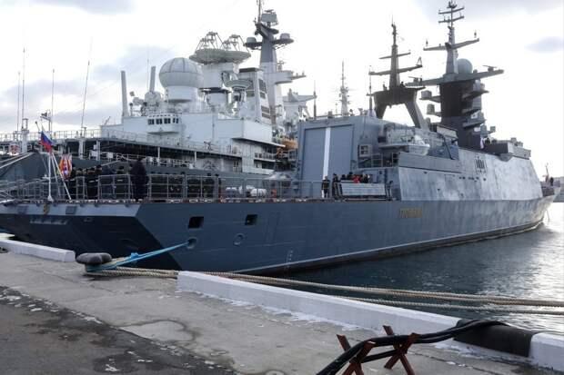 Российские корветы могут стать самыми грозными кораблями в Африке
