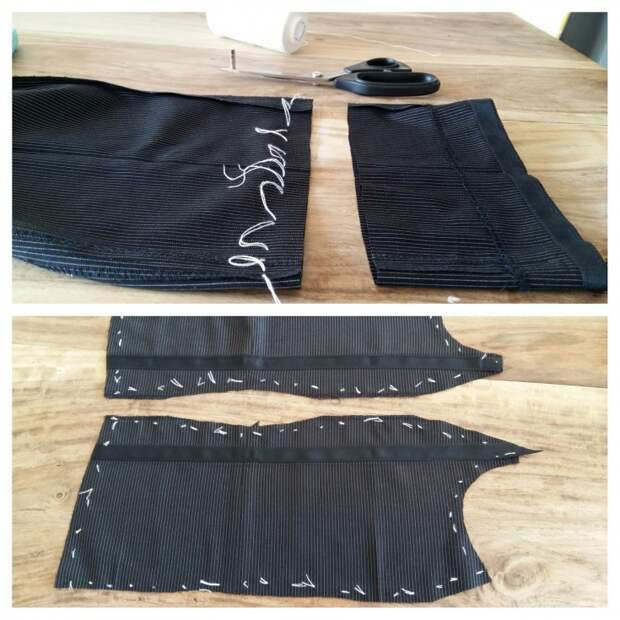 переделка мужских брюк
