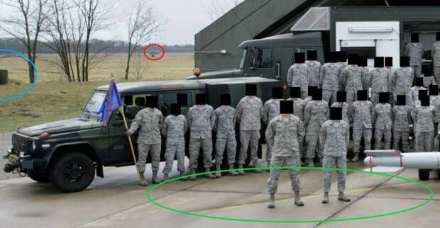 Тупые солдаты США выдали места складирования ядерного оружия в Европе