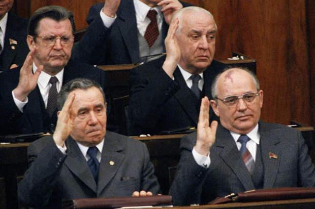 Громыко и Горбачёв