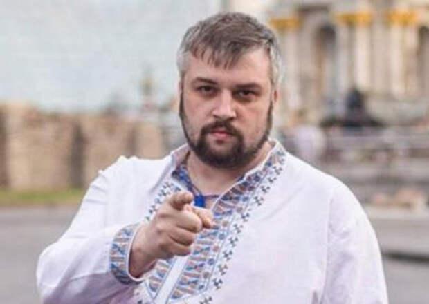 Украинский журналист выругался матом в прямом эфире во время поздравления с Днем России