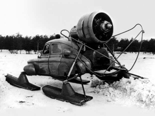 Аэросани «Север-2», или Как «Победу» поставили на лыжи
