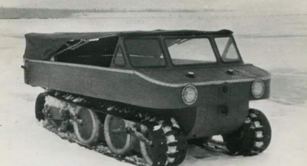 Т-44 — опытный советский вездеход