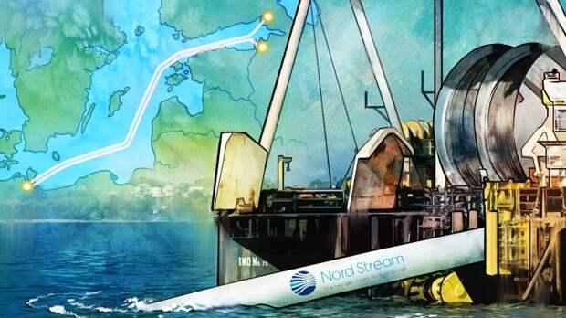 Bloomberg обеспокоен тем, что строительство «Северного потока - 2» идет к финалу