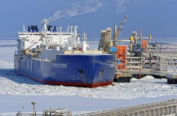 СПГ-танкер СМП