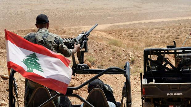 Ливанская армия открыла огонь по беспилотникам Израиля