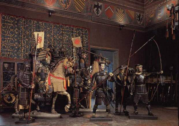 Музей Стибберта во Флоренции: рыцари на расстоянии вытянутой руки
