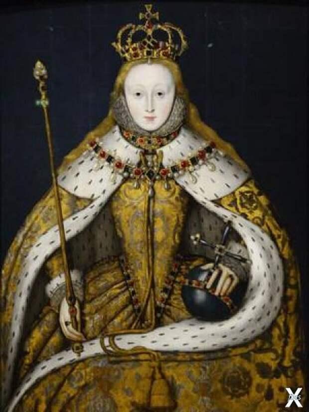 Портрет Елизаветы I из Национальной п...