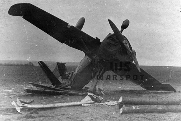 Аварийная посадка автожира №2, разъезд Живодовка, 23 ноября 1940 года - Летающие глаза артиллерии   Warspot.ru