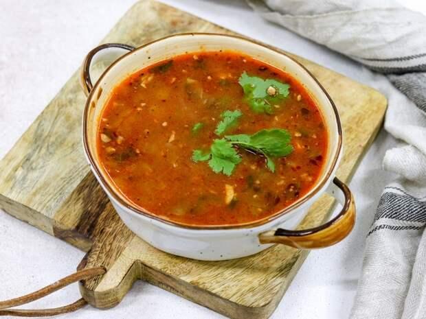 Суп Харчо — острый и наваристый!