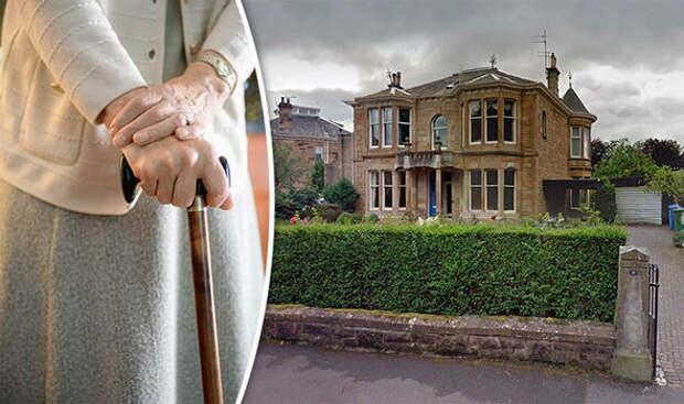 А вы бы отдали бабушку в дом престарелых?
