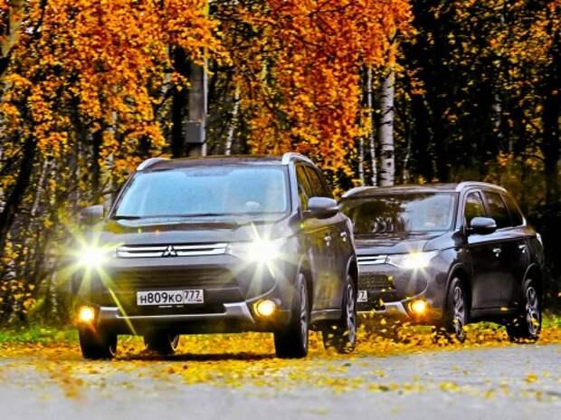 Mitsubishi Outlander S-AWC: безопасность в активе