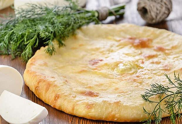 Сочные и ароматные осетинские пироги с сыром