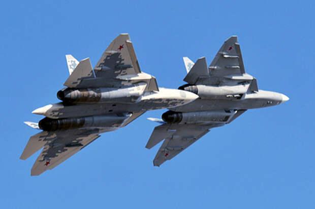 Экспортный вариант Су-57 разработают с двухпилотной кабиной
