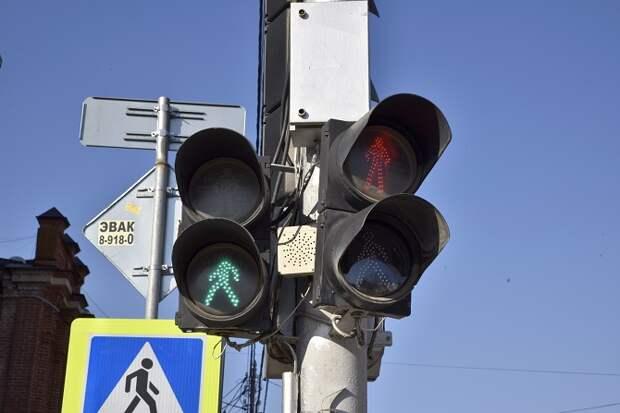В Краснодаре выключили светофоры на перекрестке Красных Партизан и Баумана