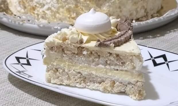 Воздушно – ореховый торт Полет! Один из самых вкусных и популярных
