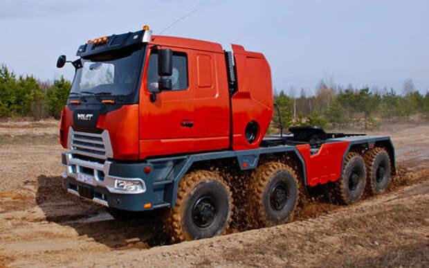 МЗКТ-750440 8×8 — гигант из Минска