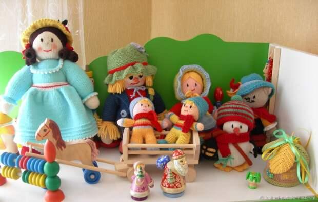 Куклы, вязаные спицами. Кукольный мир, Мягкие игрушки, Липецк,  Фото №1