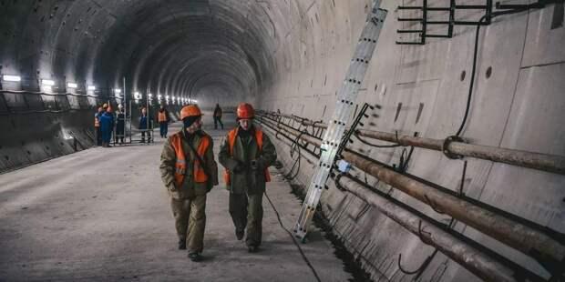Собянин утвердил наименования семи строящихся станций БКЛ метро / Фото: mos.ru