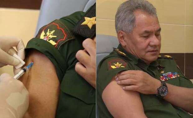 Рекомендую всем пройти эту вакцинацию — Шойгу о российском препарате от коронавируса
