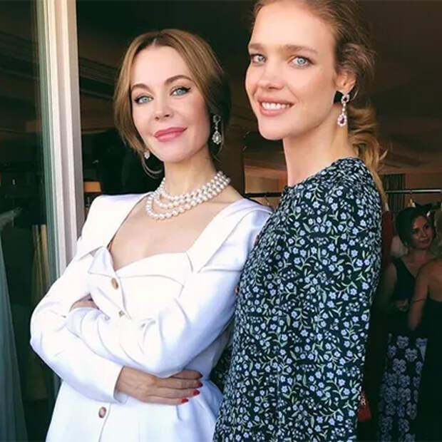 Ульяна Сергеенко и Наталья Водянова