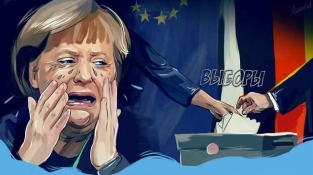 Побег Ангелы Меркель: как вопрос русского журналиста оконфузил канцлерин
