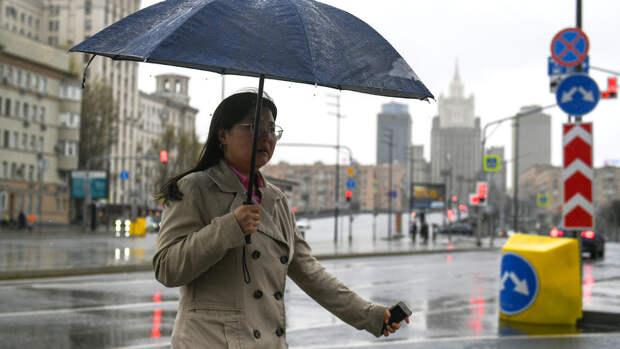 В Москве в четверг ожидается до +19°С