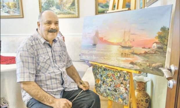Сантехник из Северного Медведкова пишет картины