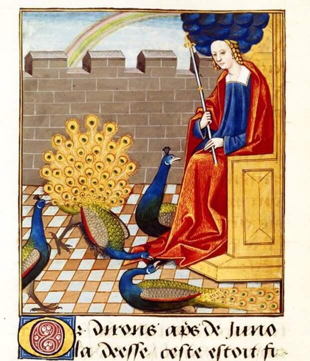 Древнеримские боги в средневековых одеждах.
