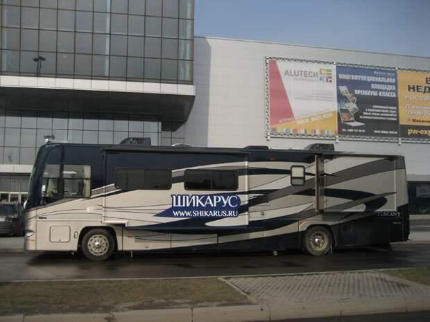 Люксовый автобус в Москве