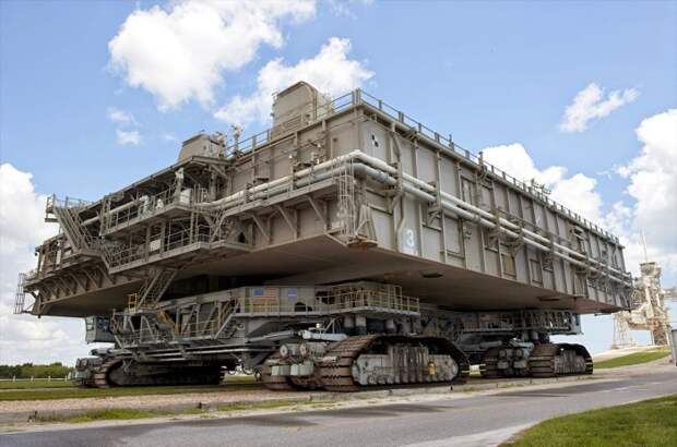Гусеничный транспортер NASA.
