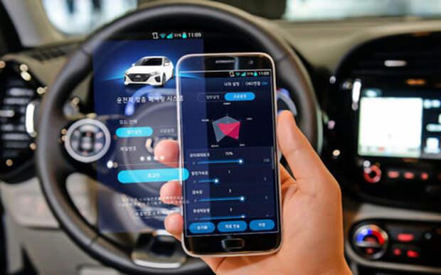 Характеристики Hyundai можно будет менять через смартфон