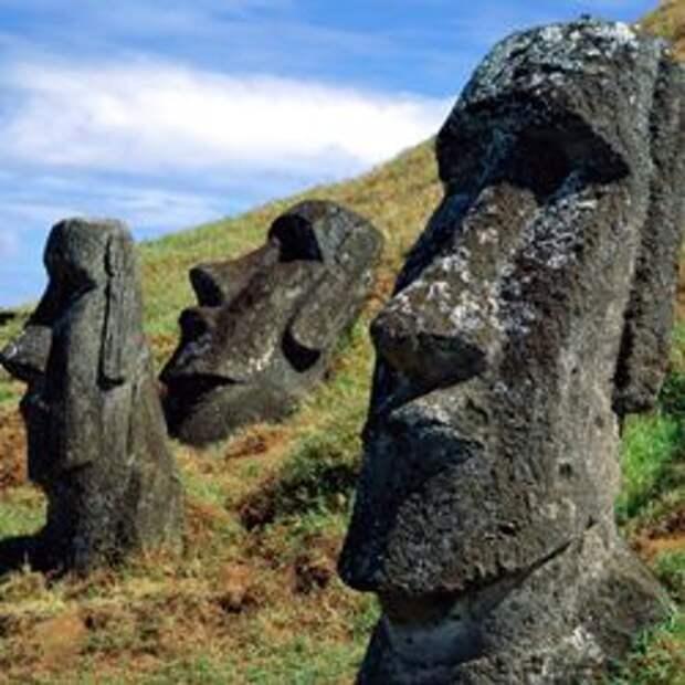 У каменных голов острова Пасхи есть туловища
