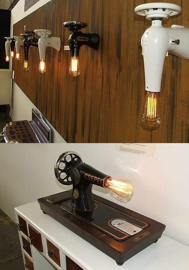 Светильники и лампы из швейных машин (трафик)