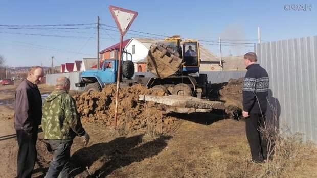 коммунальный коллапс стал причиной загрязнения реки в Мордовии