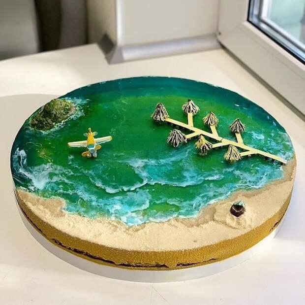30 тортов, похожих нарайские острова, затерянные вокеане