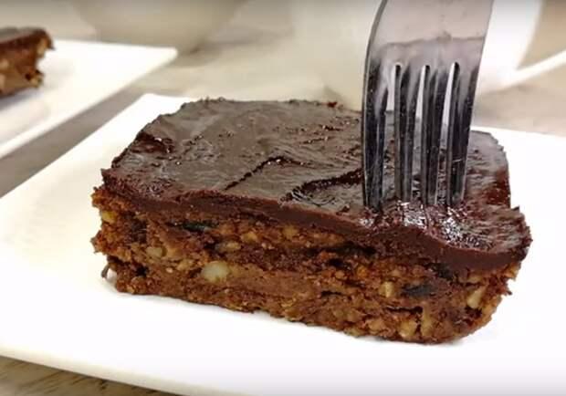 Обалденный десерт без сахара и выпечки