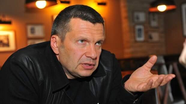 """""""У Зеленского прозвучала странная зависть"""": Соловьёв объяснил, чем выбесил президента Украины"""