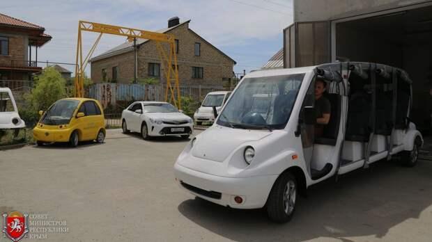 Больше сотни новых электромобилей соберут в Крыму