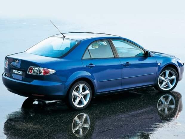 Mazda6: полшестого