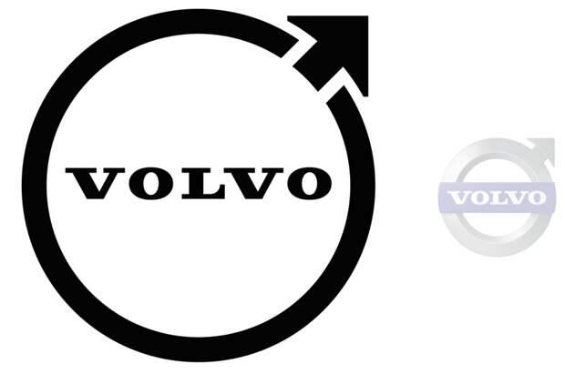 У Volvo новый логотип — да, он плоский