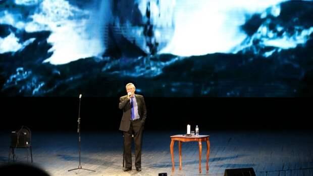 Творческий вечер выдающегося актера Александра Михайлова прошел в столице Крыма