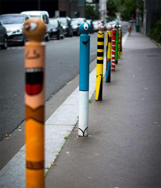 Street art в Париже, Франция