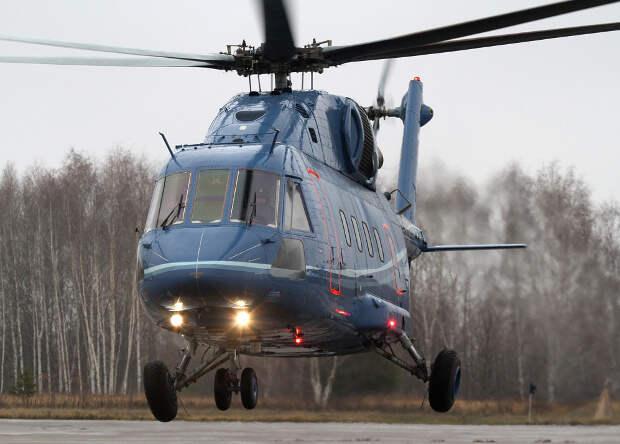 Многоцелевой вертолет Ми-38 испытали высокогорьем