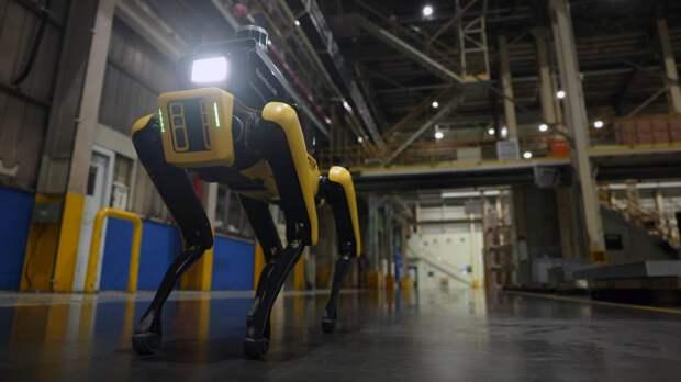 Заводы Hyundai будут охранять роботы-собаки
